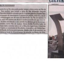 Jornal Hoje Em Dia – Mineira no Bondinho