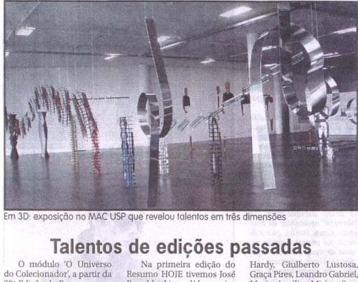 Jornal Hoje Em Dia – Arte Renovada