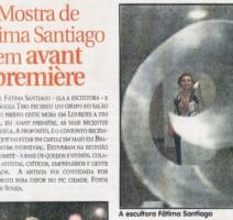 Jornal Hoje Em Dia – Mostra de Fátima Santiago em Avant Première