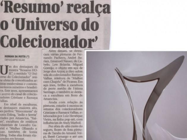 """Jornal Hoje Em Dia – """"Resumo"""" realça o """"Universo do Colecionador"""""""