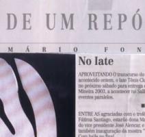 Jornal Estado de Minas – No Iate