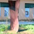 Coletivas Esculturas no Jardim da Prefeitura