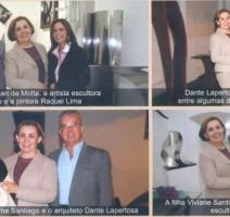 Revista Fotos e Festas – Inauguração do Ateliê da escultora Fátima Santiago