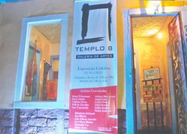 Exposições Galeria de Arte Templo 8