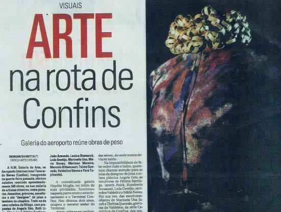 Jornal Hoje Em Dia – A arte na rota de Confins