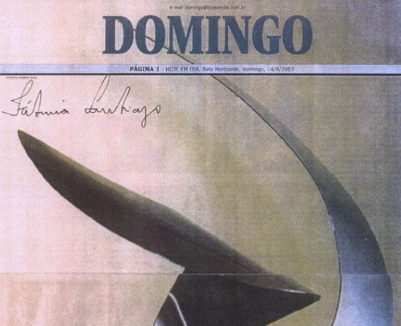 Jornal Hoje Em Dia – Sobre a artista e sua obra